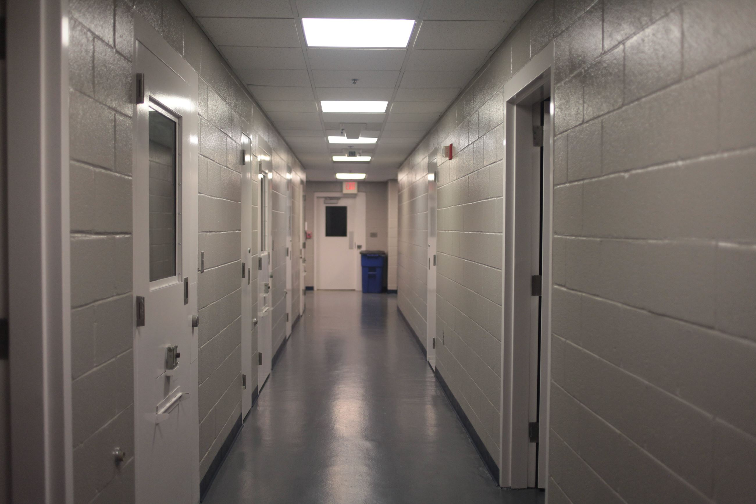 Detention Center Hallway