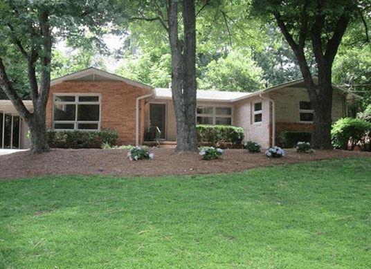 Chamblee 1960s brick ranch House