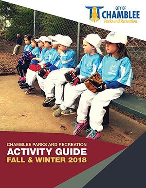 Chamblee Rec Activity Guide Cover