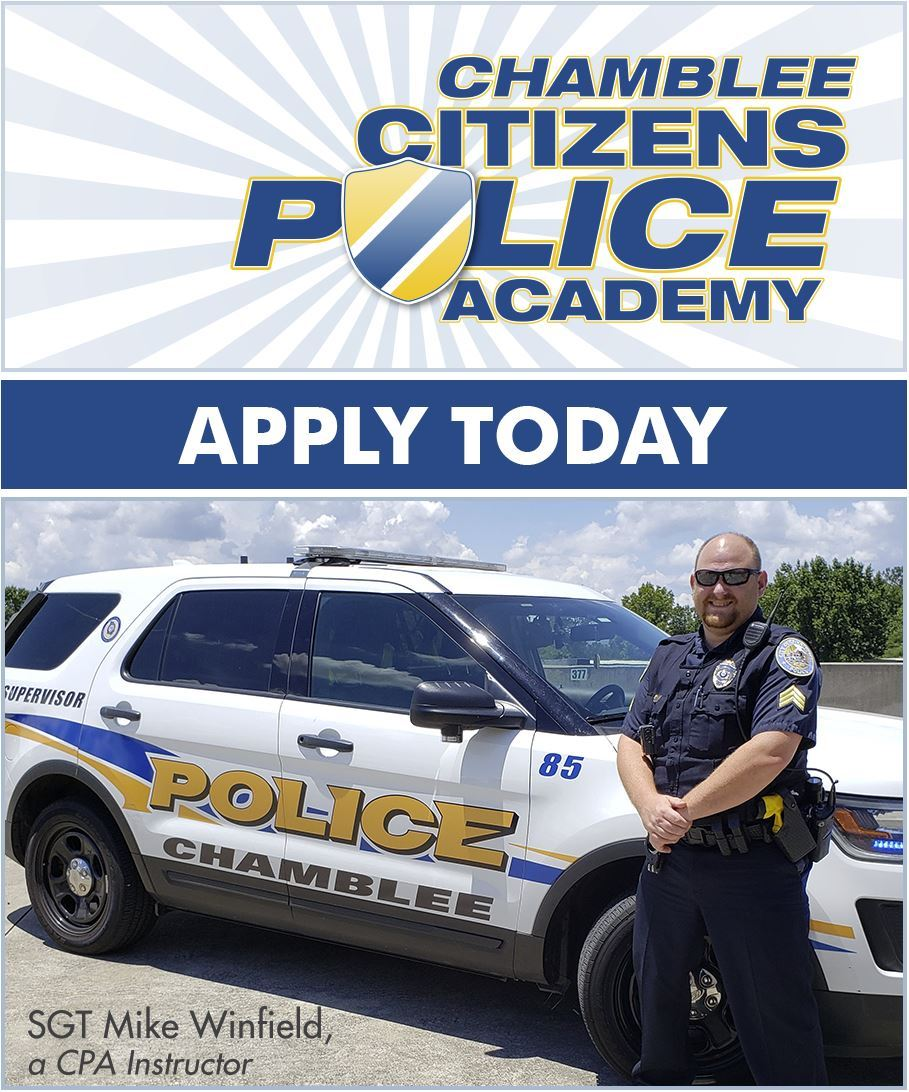 Citizens Police Academy Apply Today FINAL