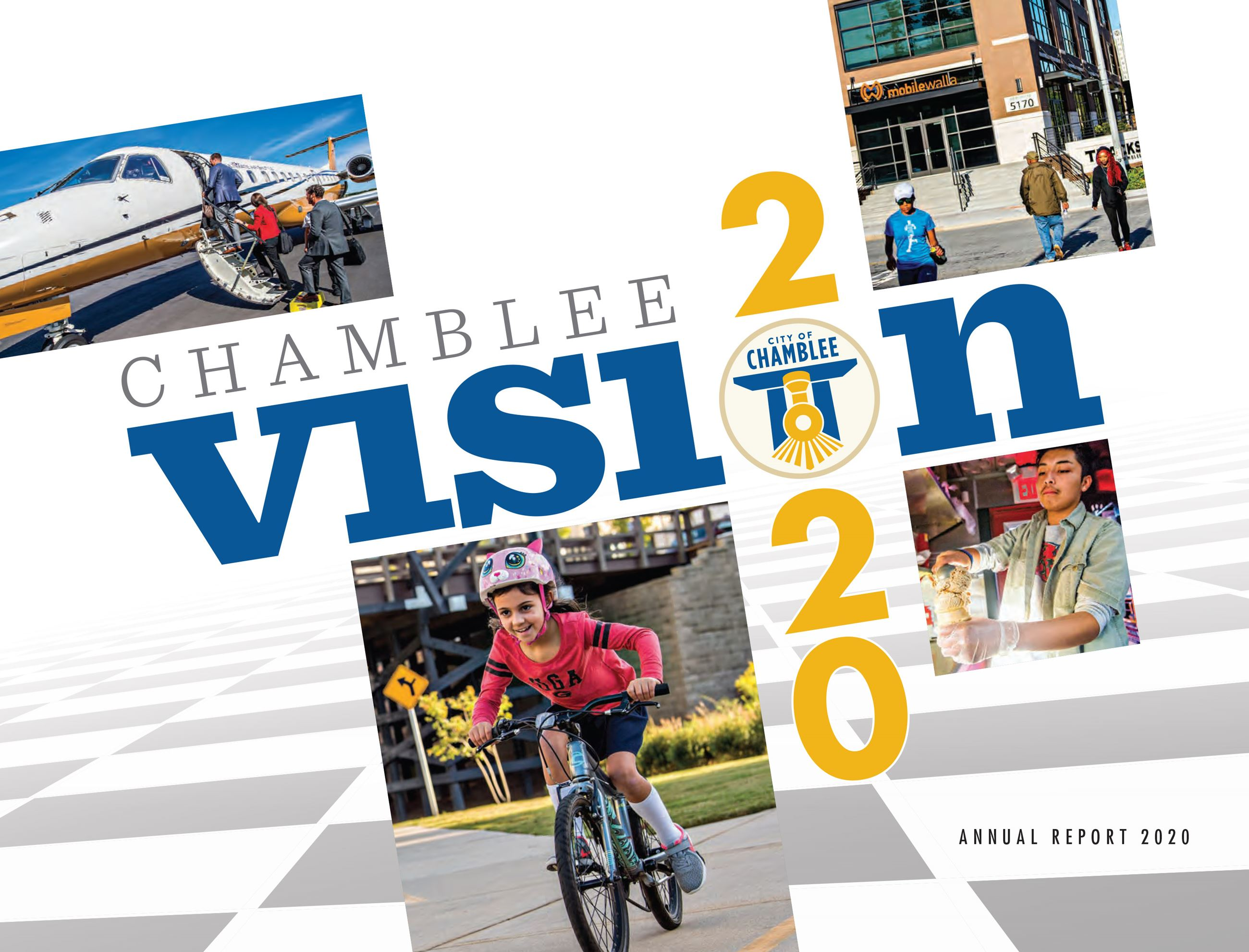 City of Chamblee Annual Report FINAL Cover