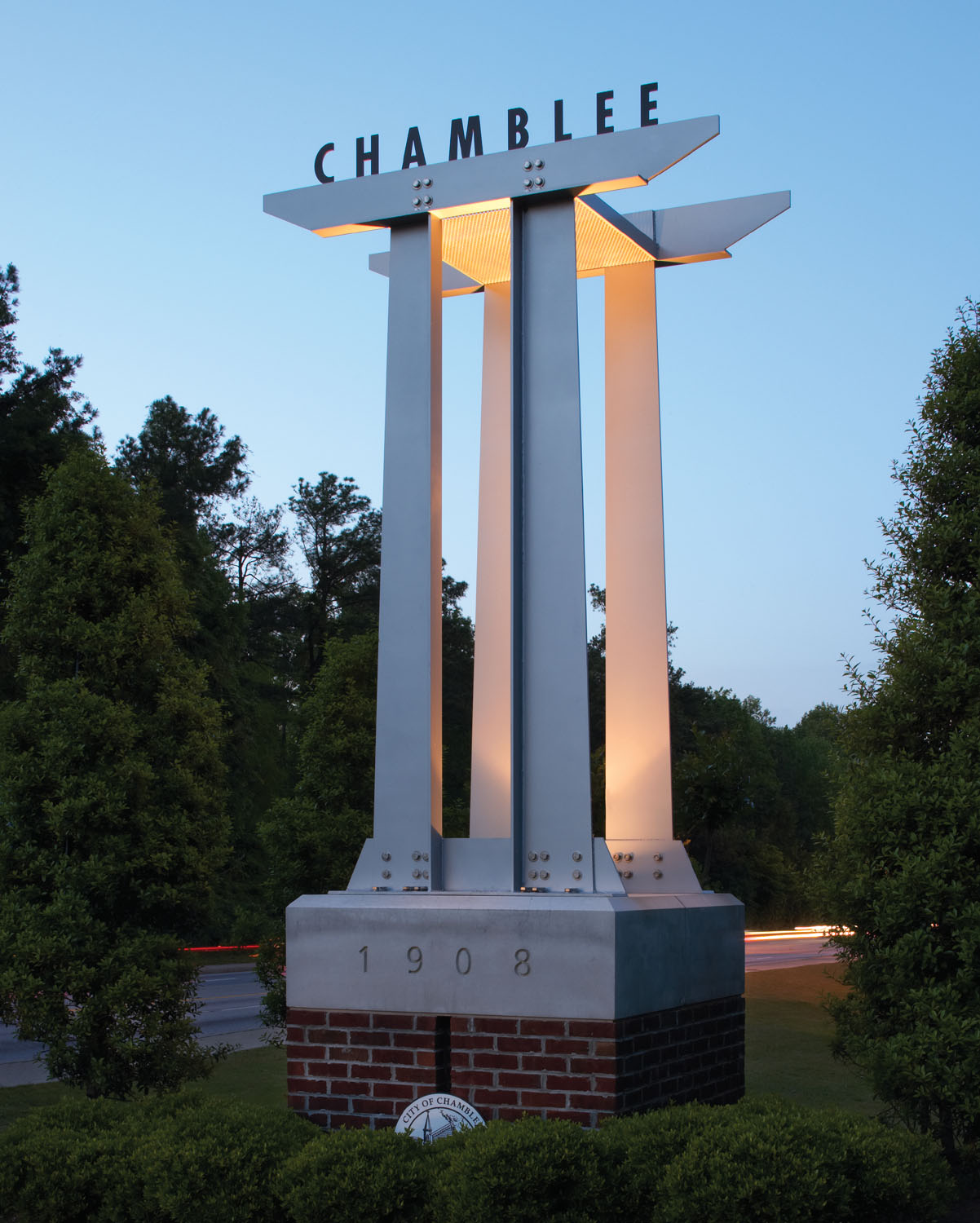 Chamblee Sign