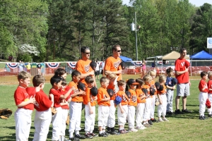 Youth Baseball and T-Ball